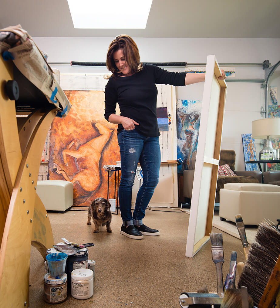 Hogarth Art - Denise Hogarth Nicely - Dallas Tx - Local Artist
