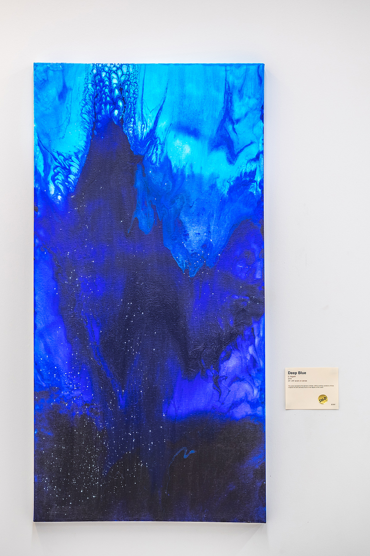 Denise Hogarth, Denise Hogarth Nicely, Treeline, Hogarth Art, Plano East, Local Artist